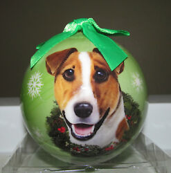 E&S Pets Christmas Ornament - Jack Russell Terrier - Shatter Proof - NIP