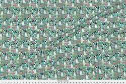 Blue Merle Border Collie Border Collies Dogs Fabric Printed by Spoonflower BTY