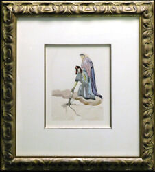 Salvador Dali The Divine Comedy Hell Canto32 Woodblock Artwork Submit Offer
