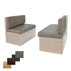 Rv 38 Putty Memory Foam Dinette Cushions Mobile Home Dining Seats 2 Pack