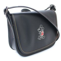 COACH F59359 Disney Collaboration Mickey Mouse Shoulder Bag leather Women