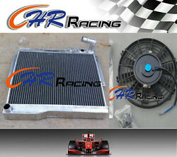 Aluminum Alloy Radiator And Fan For Mg Mgb Gt/roadster 1977-80 1977 1978 1979 1980