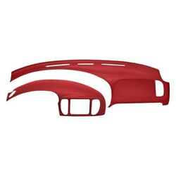 For Ford F-150 97-02 Coverlay Red Dash Cover & Instrument Panel Cover Combo Kit