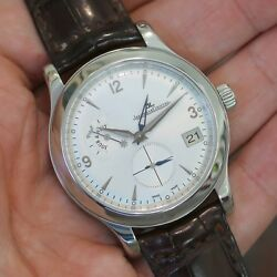 Jaeger LeCoultre Master Control Hometime Stainless Steel 147.8.05.S - Q1628420
