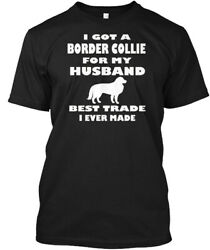 Border Collie Dog Breed Gift Lover Hanes Tagless Tee T-Shirt