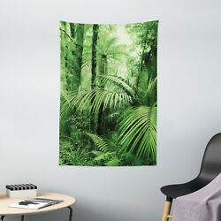 Nature Tapestry Palm Trees Exotic Plants Print Wall Hanging Decor