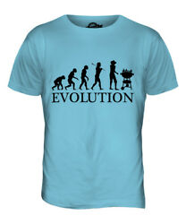 Barbeque Evolution Mens T-shirt Tee Top Gift Bbq Smoker