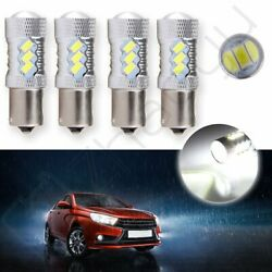 4X 2018 US Stock Daytime Running Light 60W 5007 P21W Hige Power Cree LED 16 SMD
