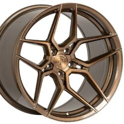 19 Staggered Rohana Rfx11 19x8.5 19x9.5 Bronze Concave Wheels Rims Forged