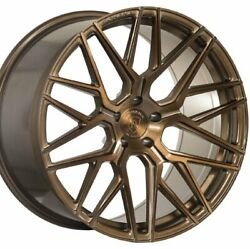 20 Staggered Rohana Rfx10 20x10 20x12 Bronze Concave Wheels Rims Forged