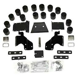 For Dodge Ram 1500 02 Performance Accessories 3 X 3 Front And Rear Body Lift Kit