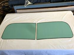 1945 Dodge Export And Plymouth, 2 Piece Original Windshield -oem