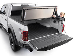 Weathertech Tri-fold Alloycover Truck Bed Cover For Nissan Titan / Xd King Cab