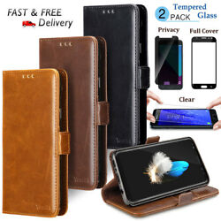 Luxury Leather Magnetic Wallet Phone Case Cover For LG Stylo 4  LG Stylo 3 Plus