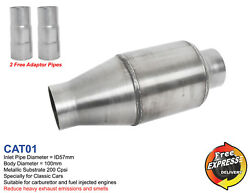 Catalytic Converter Specifically For Classic Cars 200cpsi Cat01