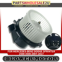 Blower Heater Motor wFan Cage for 07-17 Mercedes-Benz Dodge Sprinter 2500 3500