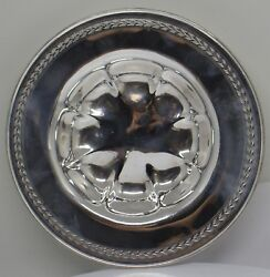 Antique J.s And Co International Silver Company Sterling Silver Bonbon Dish I-7