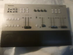 USED Vintage  PANASONIC AV Switcher Remote Controller AG-RM800