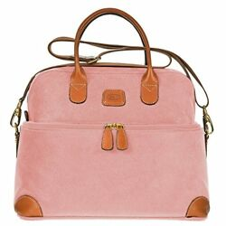 Bric's Life Tuscan Cosmetic Train Case Bag Pink