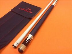 Longoni Pool Cue Feijen Leather Wrap With S2 Shaft.