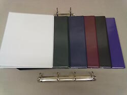 A4 Binder Various Quantities / Colours/15mm/25mm/40mm Capacity/rings-uk Quality