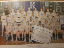 University Of Kentucky Best Of The Blue Print Wendell Field 635 Of 2500 Rare