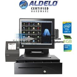 Aldelo Pro Deli Restaurant All-in-one Complete Pos System Bundle New