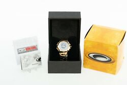 NEW MINT Blade Watch 2004 Athens Olympic Gold Edition Hollowpoint Minute Machine