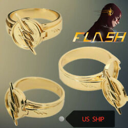 The Flash Ring Reverse Flash Zinc Alloy Replica Cosplay Accessory Collection