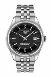 Tissot Ballade Powermatic 80 Cosc Stainless Steel Menand039s Watch T108.408.11.057.00