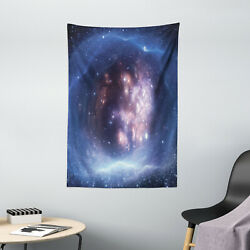 Nebula Tapestry Star Clusters Universe Print Wall Hanging Decor