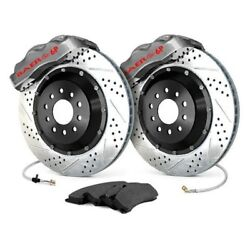 For Ford Mustang 79-92 Baer Pro Plus Drilled And Slotted Rear Brake System