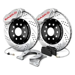 For Chevy Bel Air 55-57 Baer Ss4 Plus Drilled And Slotted Rear Brake System