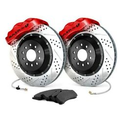 For Ford Mustang Ii 74-78 Baer Pro Plus Drilled And Slotted Front Brake System