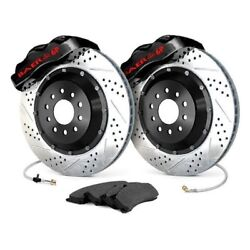 For Chevy Camaro 67-69 Baer Pro Plus Drilled And Slotted Rear Brake System