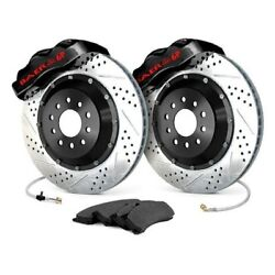 For Chevy C10 75-86 Baer 4301388b Pro Plus Drilled And Slotted Front Brake System