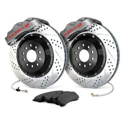 For Chevy Corvette 63-68 Baer Pro Plus Drilled And Slotted Front Brake System