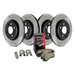 For Ford Escort 97-03 StopTech 934.45021 Street Slotted Front & Rear Brake Kit