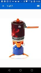 Portable Camp Stove Burner by Ze&Li Ultralight Backpacking Canister for Hiking