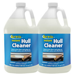 2 Pack Starbrite 81700 1 Gal Hull And Bottom Boat Cleaner Scum Lines And Stains