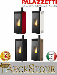 Pellet Stove Air Two Fans Palazzetti Isabel 12 Us Pro 2 Power 12 Kw