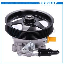 Power Steering Pump With Pulley For Pontiac Gto 2005-2006 6.0l Ohv 92161580