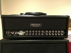 Mesa Boogie Road King 120 watt Guitar Amp Head and Foot Switch Pedal