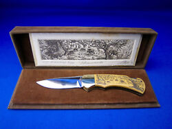 4 Star 715 Arno Hopp Limited Edition Knife 009/300 Made In Solingen Germany