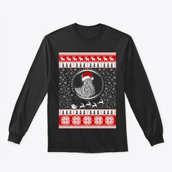 Scottish Terrier Lover Christmas Gildan Long Sleeve Tee T-Shirt