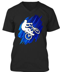 Awesome Cycling T Gift Premium Jersey V-Neck