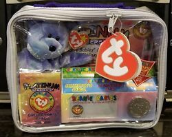Ty Beanie Babies Official Club Platinum Edition Membership Kit 1999 Never Opened