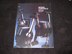 MORSE CONTROLS  INCOM Catalog 820 Marine Engine Controls Steering Systems Cables