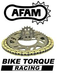 Kawasaki Zx10r D8-e 520 Race 08-10 Afam Track Day Chain And Sprocket Kit