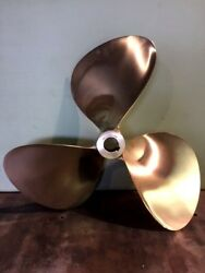 Propeller , 19 X 20 Nibral , 1 1/2bore , L/h 236 And Rh 389